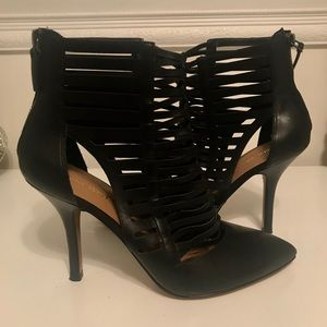 Nine West Leather Booties
